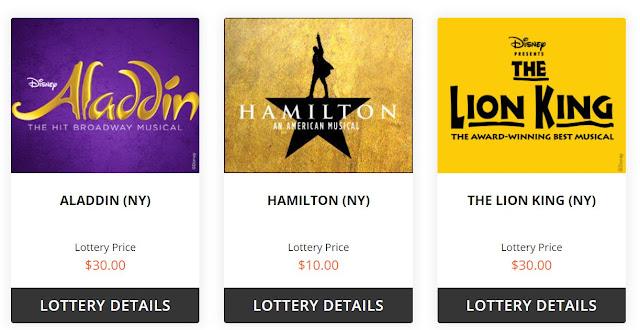 desconto em ingressos na Broadway