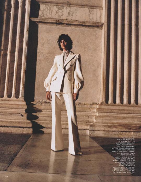 Mica Arganaraz by Angelo Pennetta for Vogue UK, November 2019