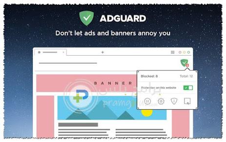 اضافة Adguard لمنع الاعلانات