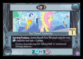 My Little Pony Ice Cloud Calamity The Crystal Games CCG Card