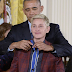 Photo: Ellen DeGeneres receives Presidential medal of Freedom from Pres. Obama