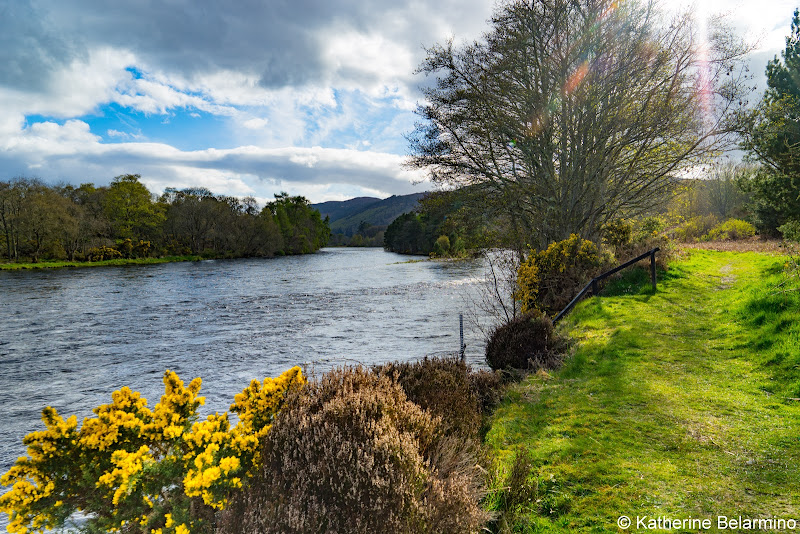 Walk Along River Ness Scottish Highlands Barge Cruise