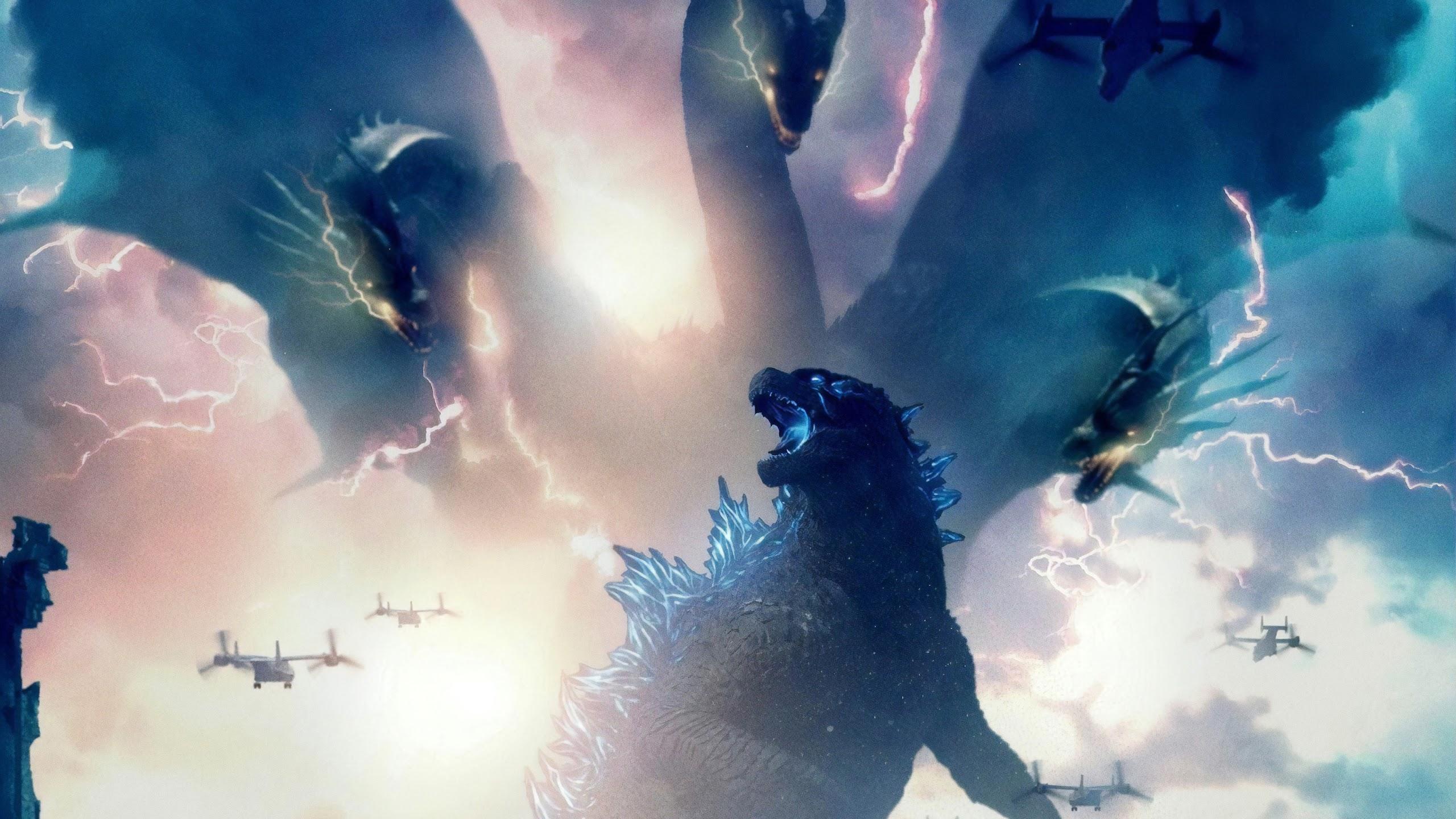 Godzilla Vs King Ghidorah Godzilla King Of The Monsters 4k