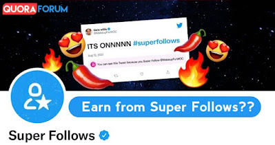 Twitter launched amazing feature, now Earn with #Superfollows!!