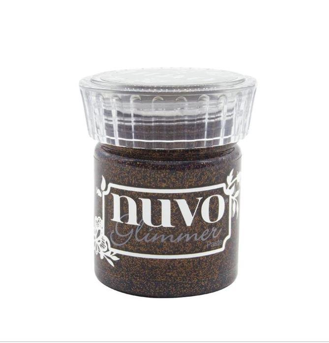 Nuvo Glimmer Paste Rich Cocoa