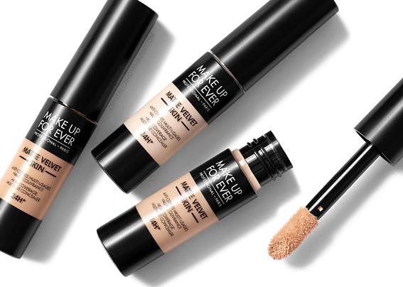 anti-cernes multi-usages Matte Velvet Skin Make Up For Ever avis revue avant après