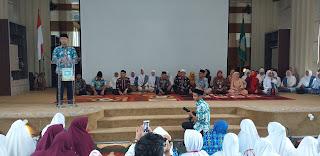 Walikota Jambi Secara Resmi Membuka Pengajian Ramadhan Terpadu BKMT Kota Jambi.
