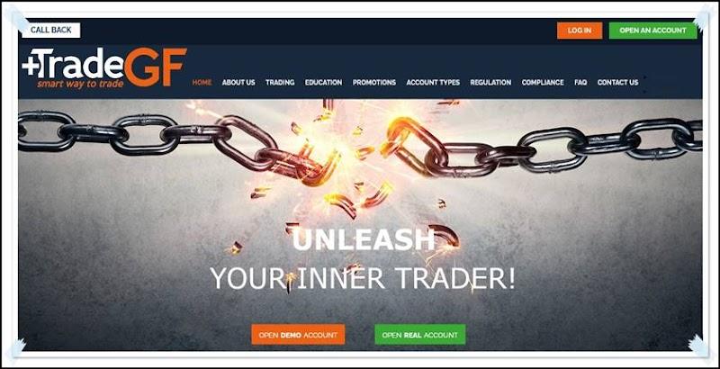 Мошеннический сайт tradegf.net – Отзывы, развод! Компания TradeGF мошенники