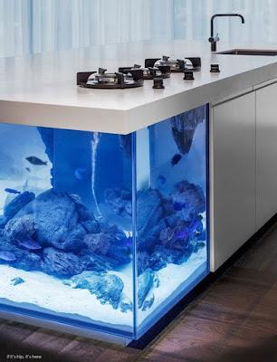 Model Meja Aquarium Minimalis Kekinian, Intip Yuk!