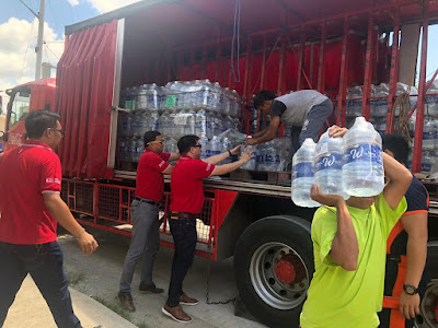 Coca-Cola provides earthquake-hit Mindanao with clean drinking water
