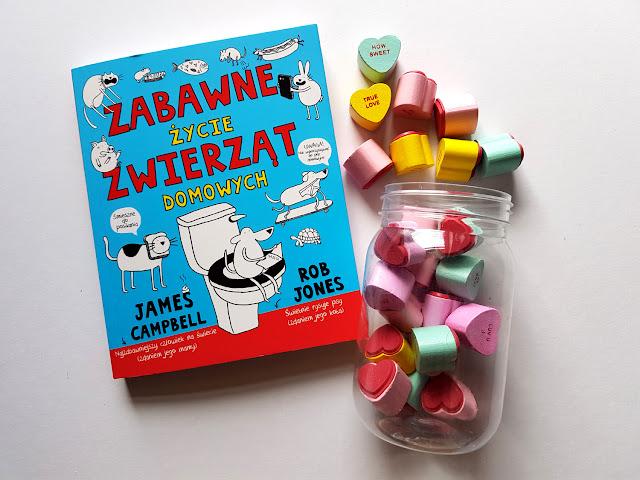 Zabawne życie zwierząt domowych -  Wydawnictwo Wilga - Grupa Wydawnicza Foksal - James Campbell - Rob Jones - książeczki dla dzieci