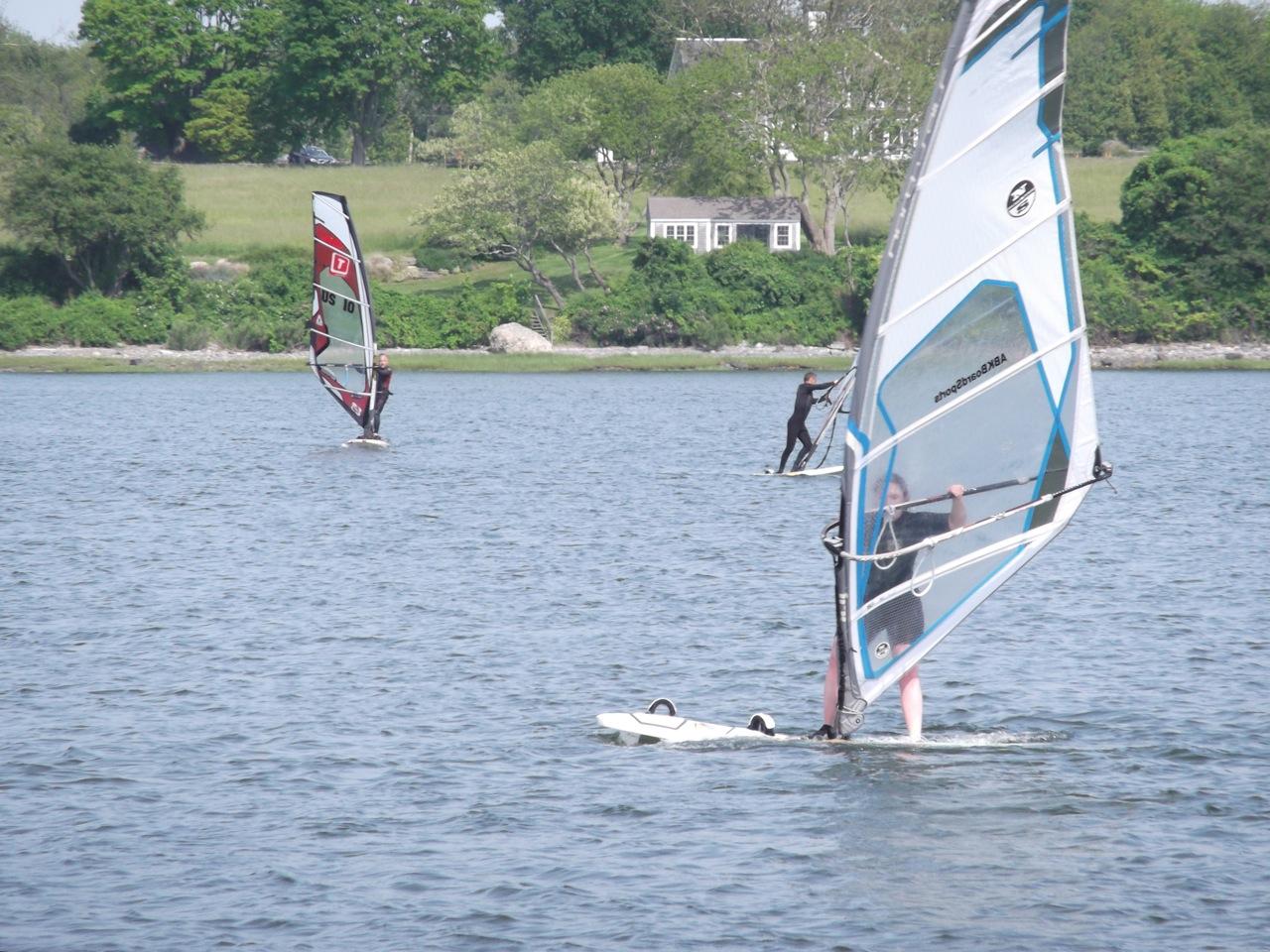 The Windsurf Loop: Light winds & longboards