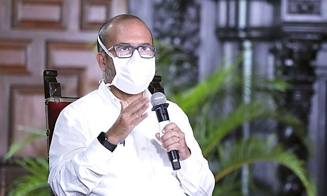 Ministro de Salud, Víctor Zamora