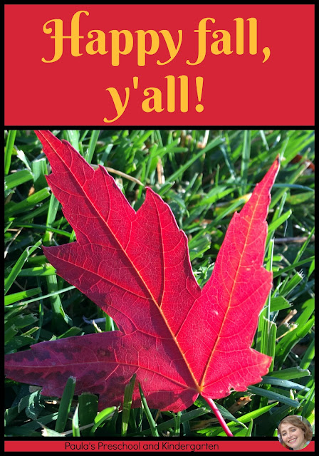 Happy fall, y'all! from Paula's Preschool and Kindergarten