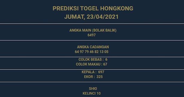 2 - PREDIKSI HONGKONG 23 APRIL 2021