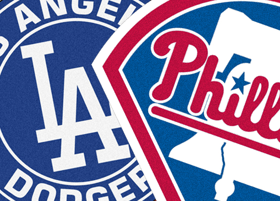 Phillies face the Dodgers