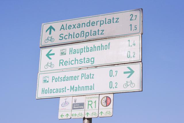 Berlin Road Signs