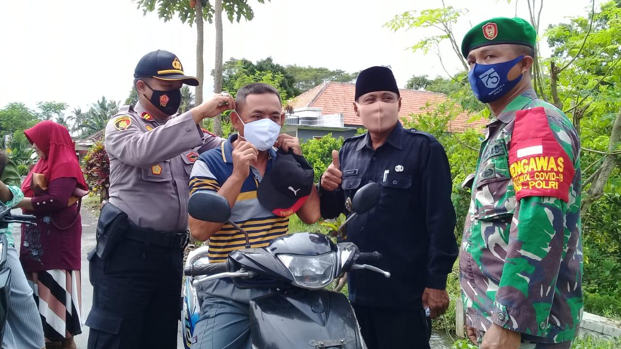 60 Pelanggar Terjaring Operasi Yustisi di Kecamatan Pasirian