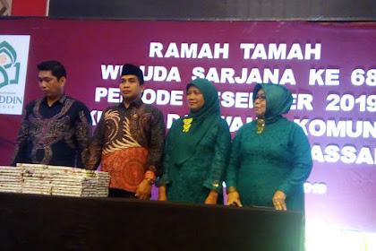 Fakultas Dakwah Dan Komunikasi UIN Alauddin Wisuda 102 Mahasiswa
