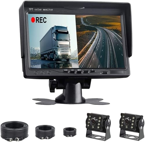 GAOFEI Cars HD Backup Camera Monitor