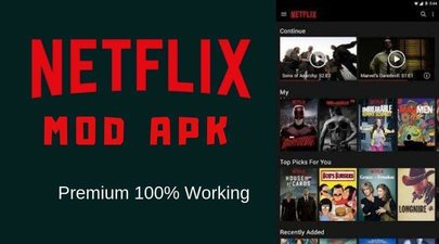 Netflix Mod Apk HD Premium Latest Version 2020 100% working