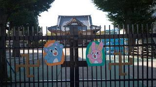 長久寺山門?幼稚園の正門