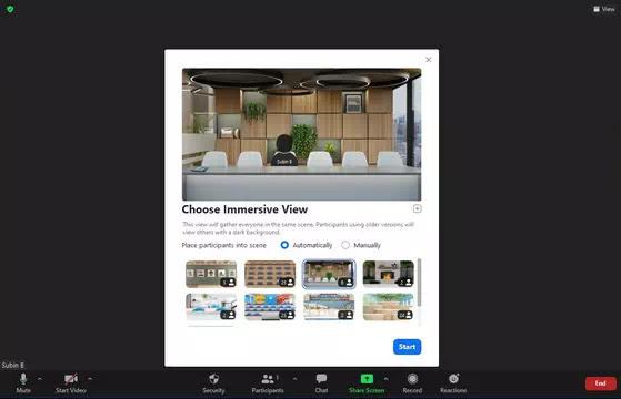 Cara Menggunakan Immersive View di Zoom-3