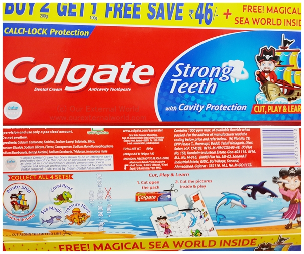DIY Magical Sea World with Colgate, #colgatemagicalstories