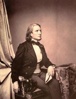Franz Liszt in 1858 by Franz Hanfstaengl