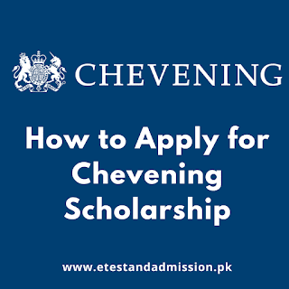 how to apply for chevening scholarship