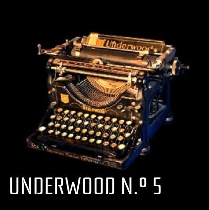 Underwood n.º 5. Diez relatos de fantasía, terror y ci-fi. Por D. D. Puche.