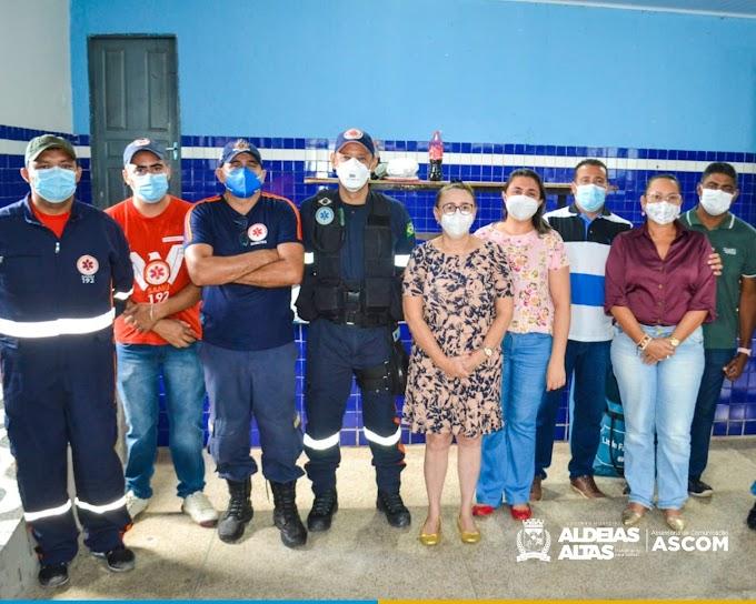 ALDEIAS ALTAS - Qualificação profissional em situações de urgência e emergência no Atendimento Pré - Hospitalar Básico
