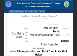 AP Polycet 2020 Hall Ticket, AP Polycet – Get Admit Card Here..      AP Polycet 2020 Hall Ticket can be generated on final submission of application form. Andhra Pradesh Polytechnic Common Entrance Test is organized by the State Board of Technical Education & Training, Andhra Pradesh, Hyderabad. It is a state level entrance exam for providing admission in the government aided and private unaided polytechnic institutions in the state. It offers admission into various engineering and non-engineering diploma courses. From this article candidates can check the Andhra Pradesh Polycet hall ticket 2020 details.    Download...AP Polycet 2020 Hall Ticket,