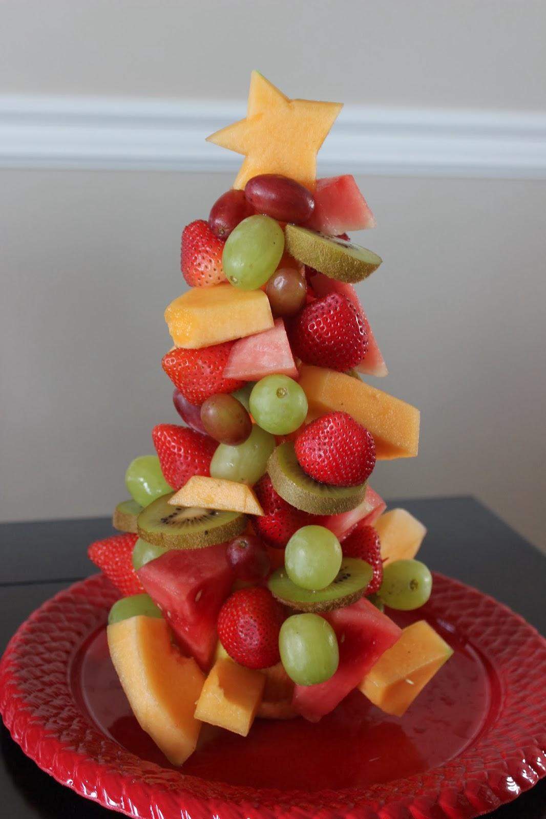 Christmas Tree Fruit.Fruit Christmas Tree Love Create Celebrate