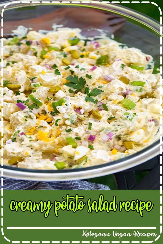 Every summer I turn to this creamy potato salad recipe for cookouts creamy potato salad recipe