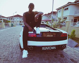 Entertainment: Lamborghini, a dream come true for Runtown