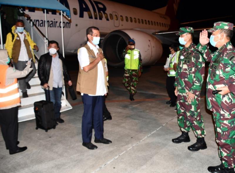 Brigjen TNI Harnoto, Sambut Kehadiran Kepala BNPB Jenderal TNI Doni Monardo