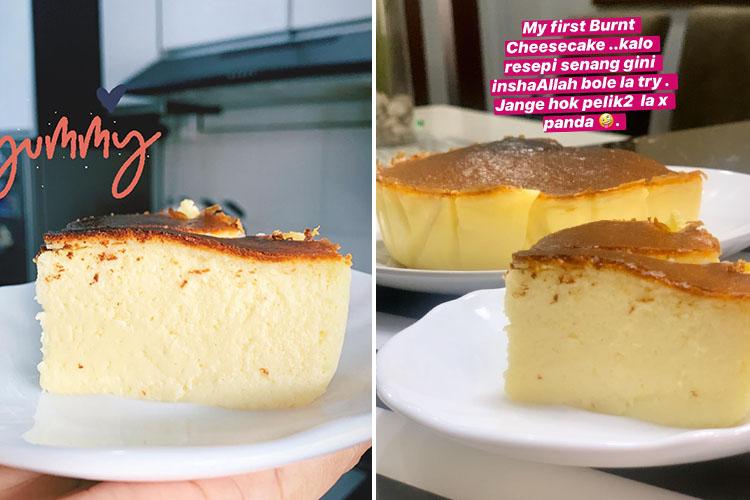 Resepi Dan Cara Buat Burnt Cheesecake. Mudah Je Katanya!