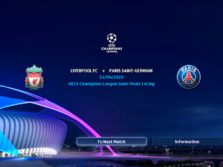 graphics PES 2013 Champions League 19-20