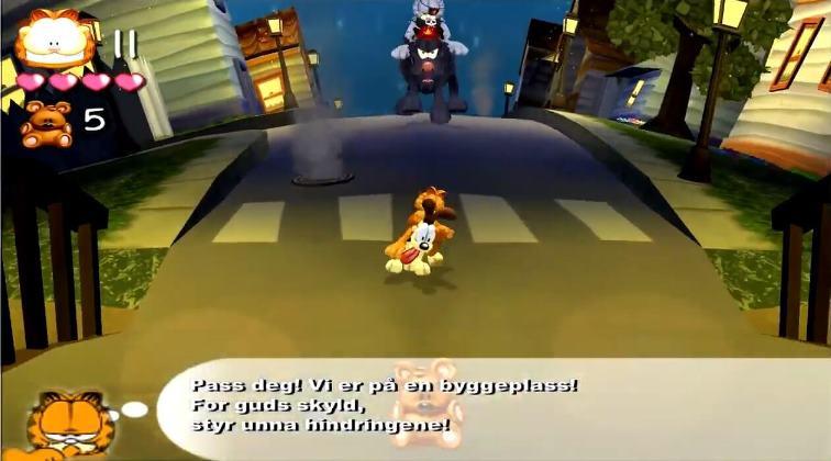 Garfield Lasagna World Tour PC Español