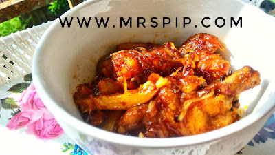 resepi senang ayam masak merah