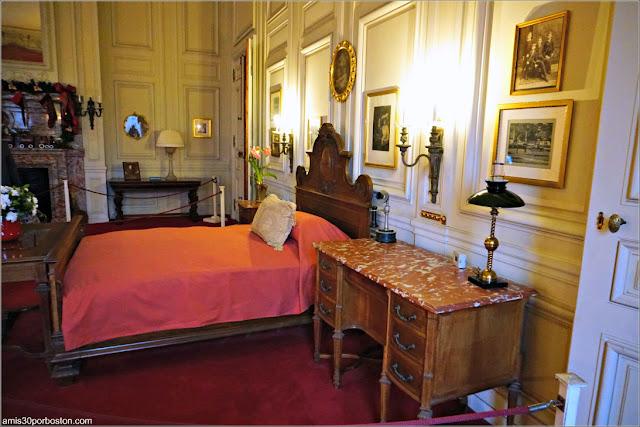 Dormitorio del Señor Vanderbilt en la Mansión The Breakers, Newport