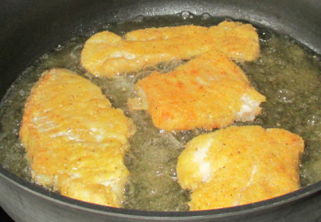 pan fried perc fillets