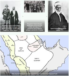 arab saudi dengan daulah turki utsmani