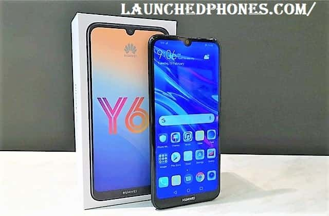 The Black together with Blue colors are revealed for this smartphone Huawei Y6 2019 launched inwards Europian marketplace position