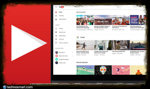 YouTube Recommends users migrate to a new version to interrupt their classical desktop interface by March