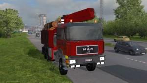 MAN 26.372 truck mod