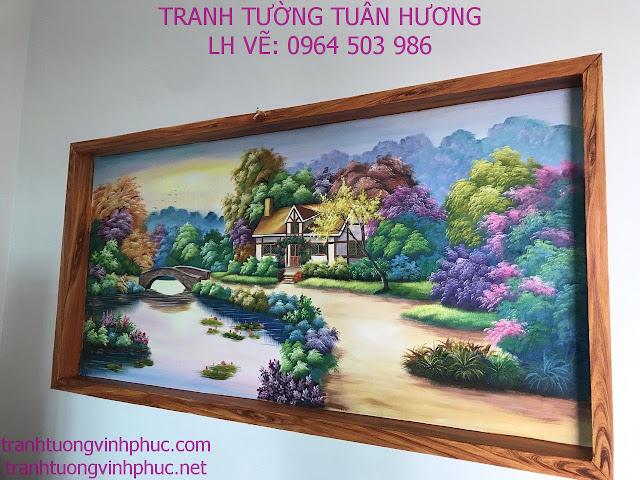 vẽ tranh tường tại xuân hòa phúc yên vĩnh phúc