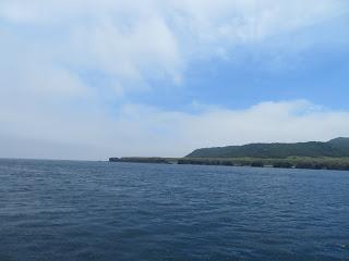 クルーズから眺める知床岬