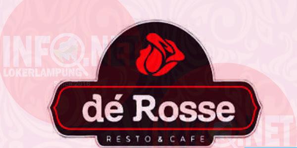 Lowongan Kerja LampungBartender De Rosse Cafe & Resto